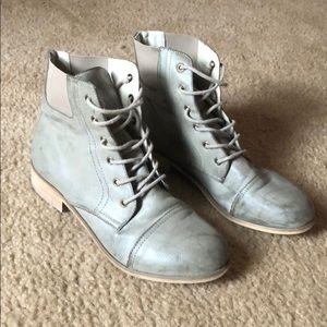 Urban outfitters distressed combat boots